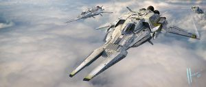 Armada Aerospace Interceptor by JJasso