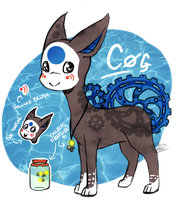 Cog - The Finnedyr! by Sheketai