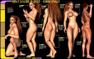 Catalogue of Species - The Klingon by Sailmaster-Seion