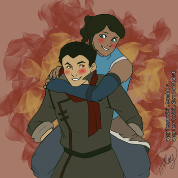 Makorra by AppleRin26