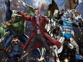Guardians of the Galaxy (1) by AuraHero7