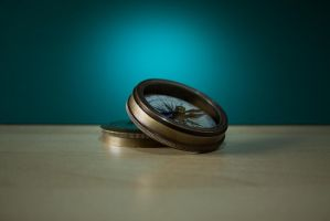 Antique Compass by KitzMonster