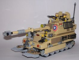 M109A6 Paladin by Brickule