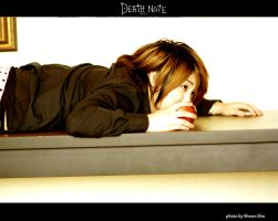 Deathnote for Fun - Apple by shiawase-chan