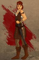 Aveline - Dragon Age 2 by SerenitysRiver