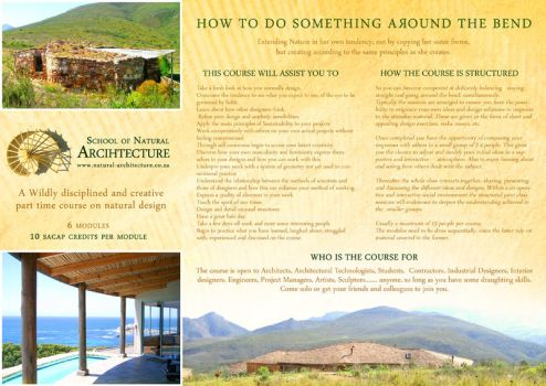 Architecture Pamphlet Front by fynnfynn