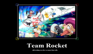 Team Rocket's Rockin' by KaylaDaSupergirl