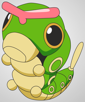 010 Caterpie by scope66