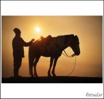 sunrise at bromo by Petrusloo