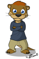 Gift: Alex The Otter by dATomB