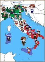 APH: Mappa d'Italia (Map of Italy) by jjblue1