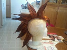 Tapion wig from Dragon Ball Z: Wrath of the Dragon by lunaladyoflight