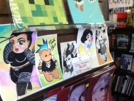 New Work up at COSMIC MONKEY COMICS by ChibiCelina