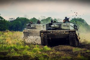 Leopard 2A4 Tanks by neo1984com
