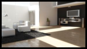 living room by Architecture-Digital