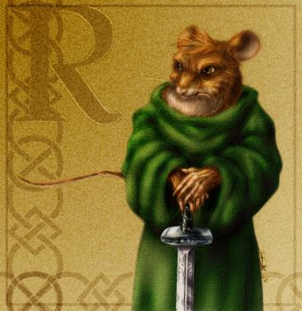 Warrior of Redwall Coloured by spydaman