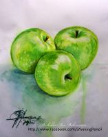 Green Apples by XagroS