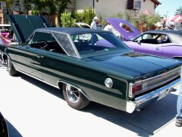 1967 Plymouth Belvedere GTX rear quarter view by RoadTripDog
