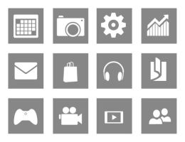 Reconstructed Windows 8 Start Screen Icons by fediaFedia