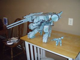 Metal Gear Rex - GIANT by GWBinvincible