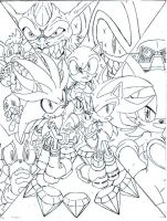 Sonic Universe Triple Threat cover 1 by trunks24