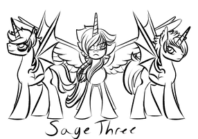 New Challenger Appears: Sage Three Ponies! by TheRebelPhoenix
