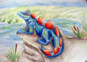 Totodile by Balsamo