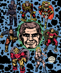 Jack Kirby Tribute by LeevanCleefIII