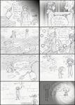 Xion and Roxas comic by animegal12