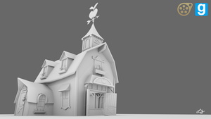 [WIP] Sweet Apple Acres Barn by discopears