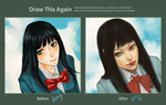 Draw this again challenge! by asyuumi