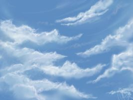 Clouds practice by Lasaro