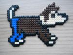 10th Dogtor- Hama Bead by Dogtorwho