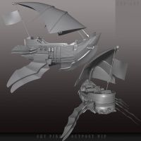 Sky Pirate Ship HP by CDB-ART