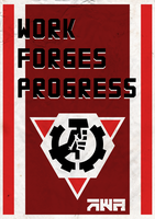 Work Forges Progress by ropa-to