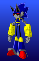 archie's Mecha Sonic by the-real-iceman