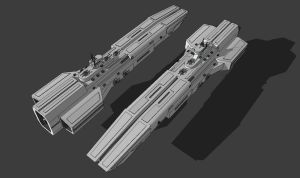 Victory-Class Cruiser by TheOrangeGuy