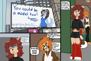 Not a Swimsuit Model - Page 1 by Piperwolf201