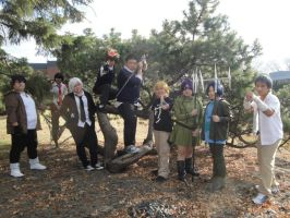Anime Fusion Oct 19-21, 2012 Vongola Family by chewyeng93
