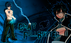 Gray Fullbuster Wallpaper by XIMEN-ALE