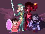 steven universe rpg party by tigressinger