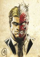 Two Face by MDarts