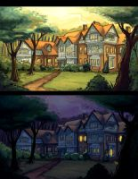 Concept: House in the Woods by painted-bees