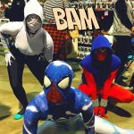 SpiderGwen, Scarlet Spider and Cosmic Spider by Jacks-sis13