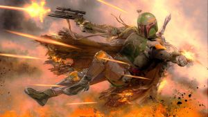 Star Wars-Boba Fett by TheRenegade01