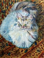 The Persian Cat by thecip