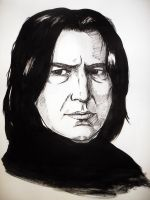 Severus Snape by valefor