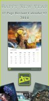 12 Page DA Calender-2014 #2 by SaimGraphics