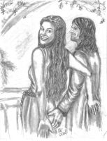Aragorn and Arwen-In Great Glory and Bliss -Part 7 by rstrider9
