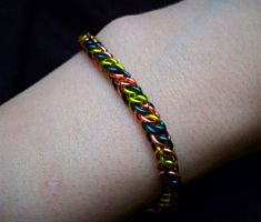 Colorful Half Persian Bracelet by Divulged